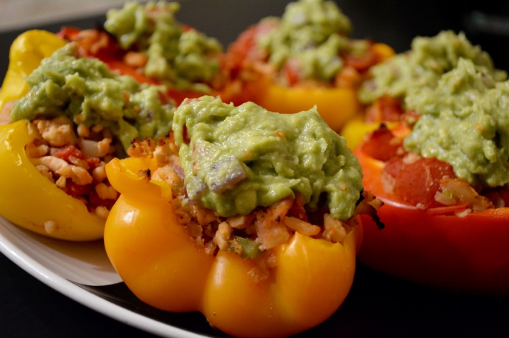 Southwestern Turkey Stuffed Peppers- Whole30Approved