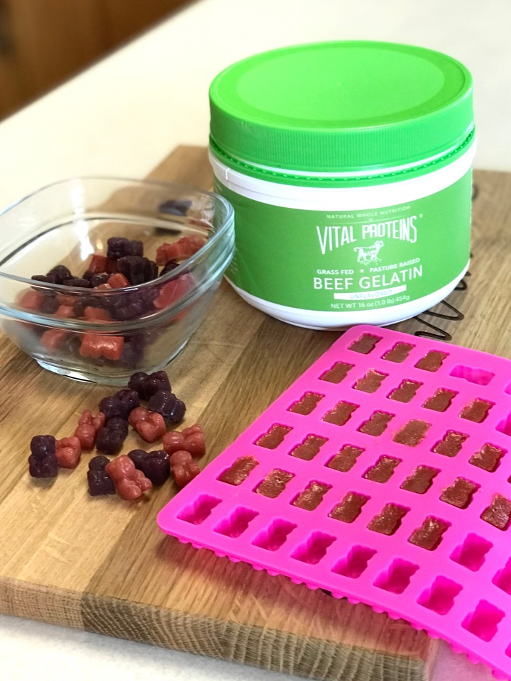 Anti-Inflammatory Berry Gummies- Vital Proteins Beef Gelatin